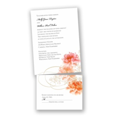 Beloved - Tangerine - Value Invitation Set