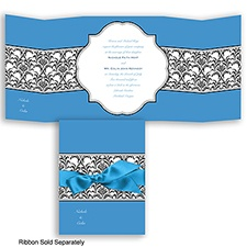 Together Forever - Cornflower - Invitation