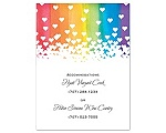 Rainbow Hearts - Multi-Purpose Card