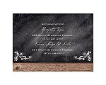 Rustic Chalkboard - Multi-Purpose Card