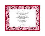 Perfect Paisley Duet - Apple- Multi-Purpose Card