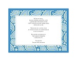 Perfect Paisley Duet - Cornflower- Multi-Purpose Card