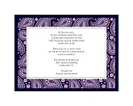 Perfect Paisley Duet - Lapis- Multi-Purpose Card