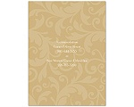 Treasured Jewels Pattern - Golden - Multi-Purpose Card