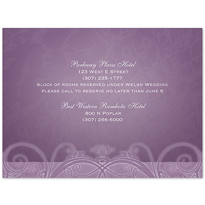 Tender Love - Wisteria - Multi-Purpose Card