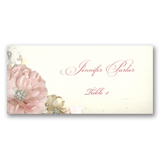 Perfect Petals - Escort Card