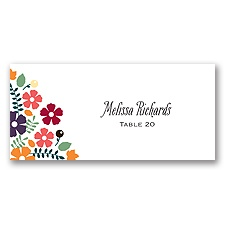 Splendid Season - Escort Card