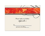 Autumn Glory - Response Card and Envelope