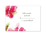 Brushstrokes - Watermelon - Response Card and Envelope