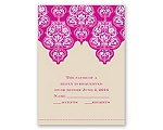 Mehndi Magic - Response Card and Envelope