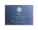 Luminous Lace - Sapphire Shimmer - Response Card and Envelope