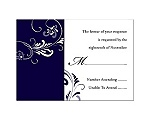 Always & Forever - Lapis - Response Card and Envelope
