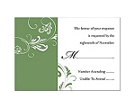 Always & Forever - Clover - Response Card and Envelope