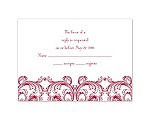 Aristocrat - Response Card and Envelope
