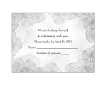 Treasured Jewels - Vintage Roses - Response Card and Envelope