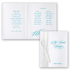 Enchantment Sweet 16 - Invitation