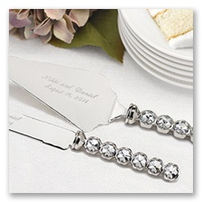 Personalized Ultimate Bling Serving Set