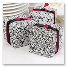 Damask Two-Piece Favor Boxes