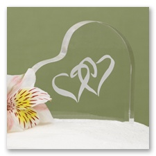 Eternal Love Cake Topper