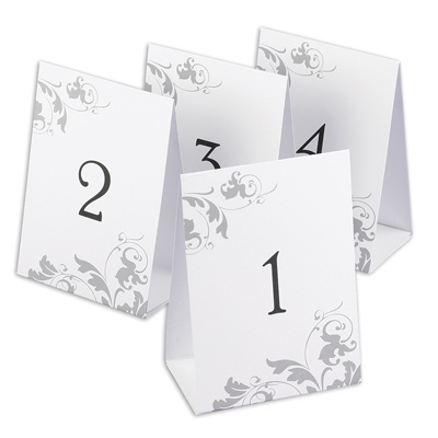 Filigree - Table Number Set