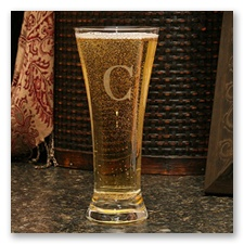 Personalized Pilsner Glass
