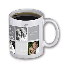 Mr. & Mrs. Personalized Photo Mug