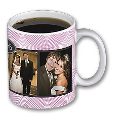 Love in Motion - French Kiss - Personalized 11oz Photo Mug