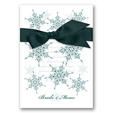 Snowflake Elegance - Gem - Invitation