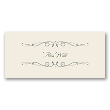 Dapper Day - Place Card