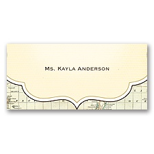 Travelers Tales - Place Card