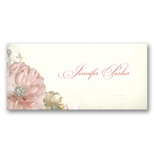 Perfect Petals - Place Card