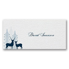 Winter Majesty - Place Card