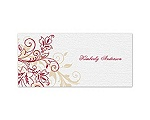 Flourish with Golden Shadow - Apple - Place Card