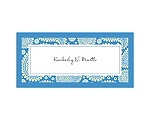 Perfect Paisley Duet - Cornflower- Place Card
