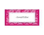 Perfect Paisley - Watermelon - Place Card