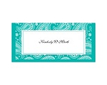 Perfect Paisley - Mermaid - Place Card