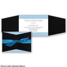 Layers of Color - Cornflower - Invitation