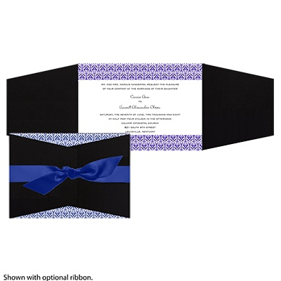 Layers of Color - Regency- Invitation