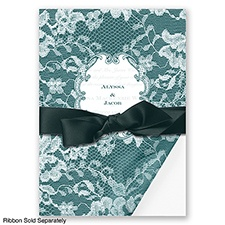 Lace Wrap - Gem - Invitation