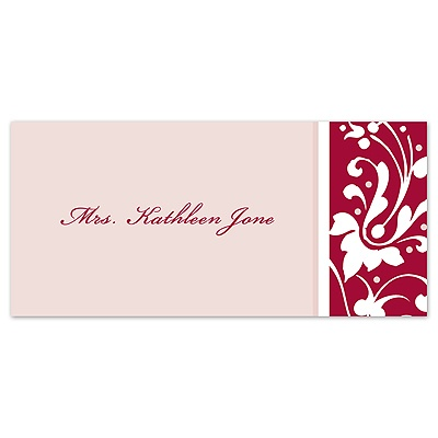 Forever Color - Apple - Place Card