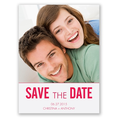 First Comes Love - Poppy - Save the Date