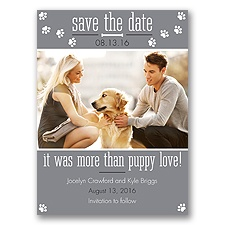 Puppy Love - Mercury - Save the Date