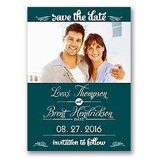 Sweetest Date - Gem - Photo Save The Date Magnet