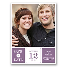 Photo Fantastic - Wisteria - Save the Date