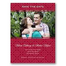 Victorian Charm - Apple - Save the Date