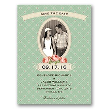 Vintage Photo Album - Meadow - Save the Date