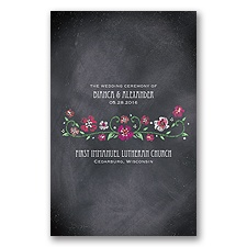 Blooming Chalkboard - Begonia - Program