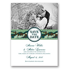 Camo Cutie - Save the Date