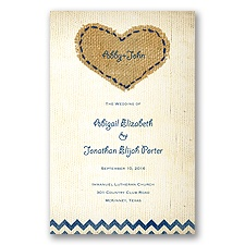 Burlap Heart - Program