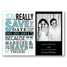 Ga Ga Photo - Pool - Save the Date Magnet